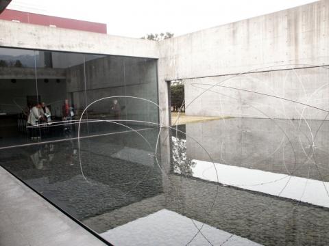 Nagi Museum of Contemporary Art, Arata Isozaki