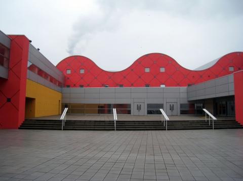Kitakyushu International Conference Center, Arata Isozaki