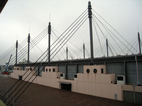 West Japan General Exhibition Center, Arata Isozaki