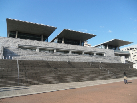 Hyogo prefectural museum of art, Tadao Ando
