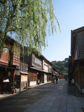 Quartier Higashi-Chayagai, Kanazawa