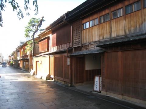 Quartier Nishi-Chayagai, Kanazawa