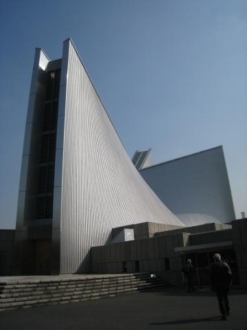 Cathédrale de Tokyo, Kenzo Tange