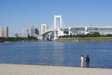 Plage artificiel d'Odaiba