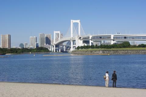 Plage artificiel d'Odaiba