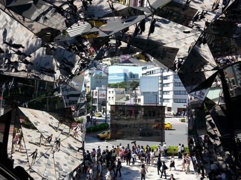 Tokyu plaza Omotesando, Hiroshi Nakamura