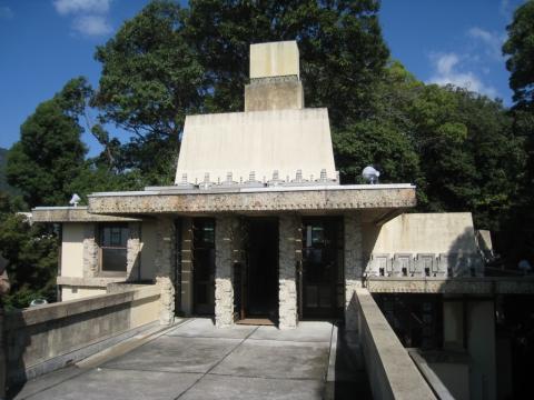 Yodoko Guest House, Franck Lloyd Wright