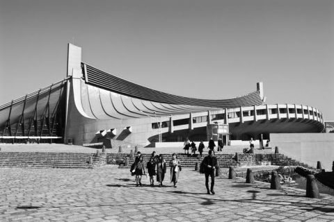 National Gymnasiums for Tokyo Olympics, Kenzo Tange (photo : Sylvie Lagabrielle)
