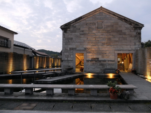 Stone Plaza, Kengo Kuma