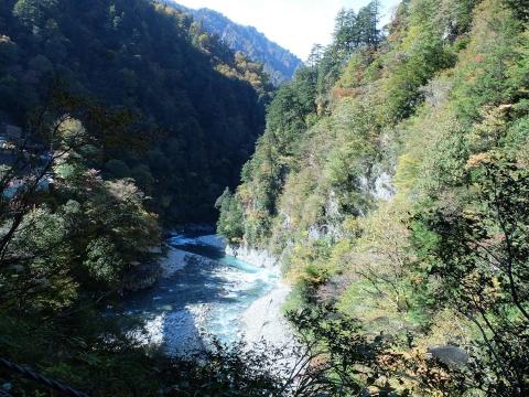 Promenade train de montagne Kurobe