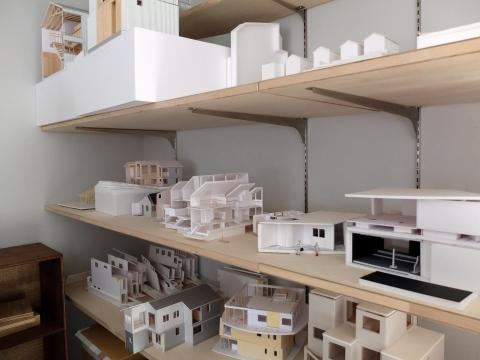 Bureau d'architecte et l'espace de ses enfants