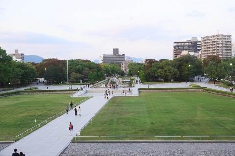 Hiroshima memorial park